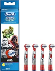 Oral-B Stages Power Kids Aufsteckbürsten im Star Wars Design, 1er Pack (1 x 4 Stück)