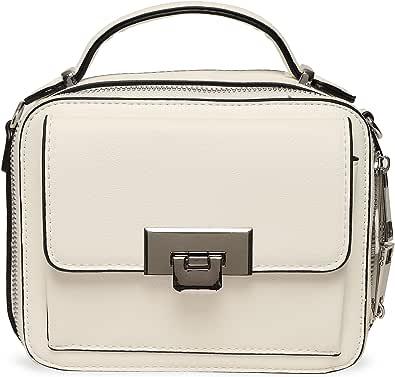 ALDO Damen ELLANE Handtasche, weiß, 20