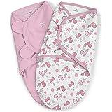 Summer Infant SMR-BED09 fra SwaddleMe – Tweet 2-pack (0–3 m), transparent, 200 g