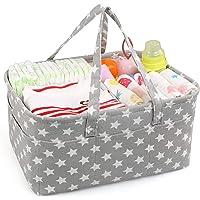 LinStyle Panier à couches pour bébé, Panier de Rangement pour Bébé Organisateurs De Bébé Rangement Pour Chambre d'enfant…