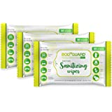 BodyGuard Disinfectant Sanitizing Wipes, Alcohol Free - 30 Wipes (Pack of 3)