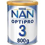 Nestle NAN OPTIPRO Stage 3, 1 to 3 Years, Powder Milk Tin, 800g, Pack of 1