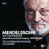 Mendelssohn: The 5 Symphonies ; The 13 String Symphonies (Coffret