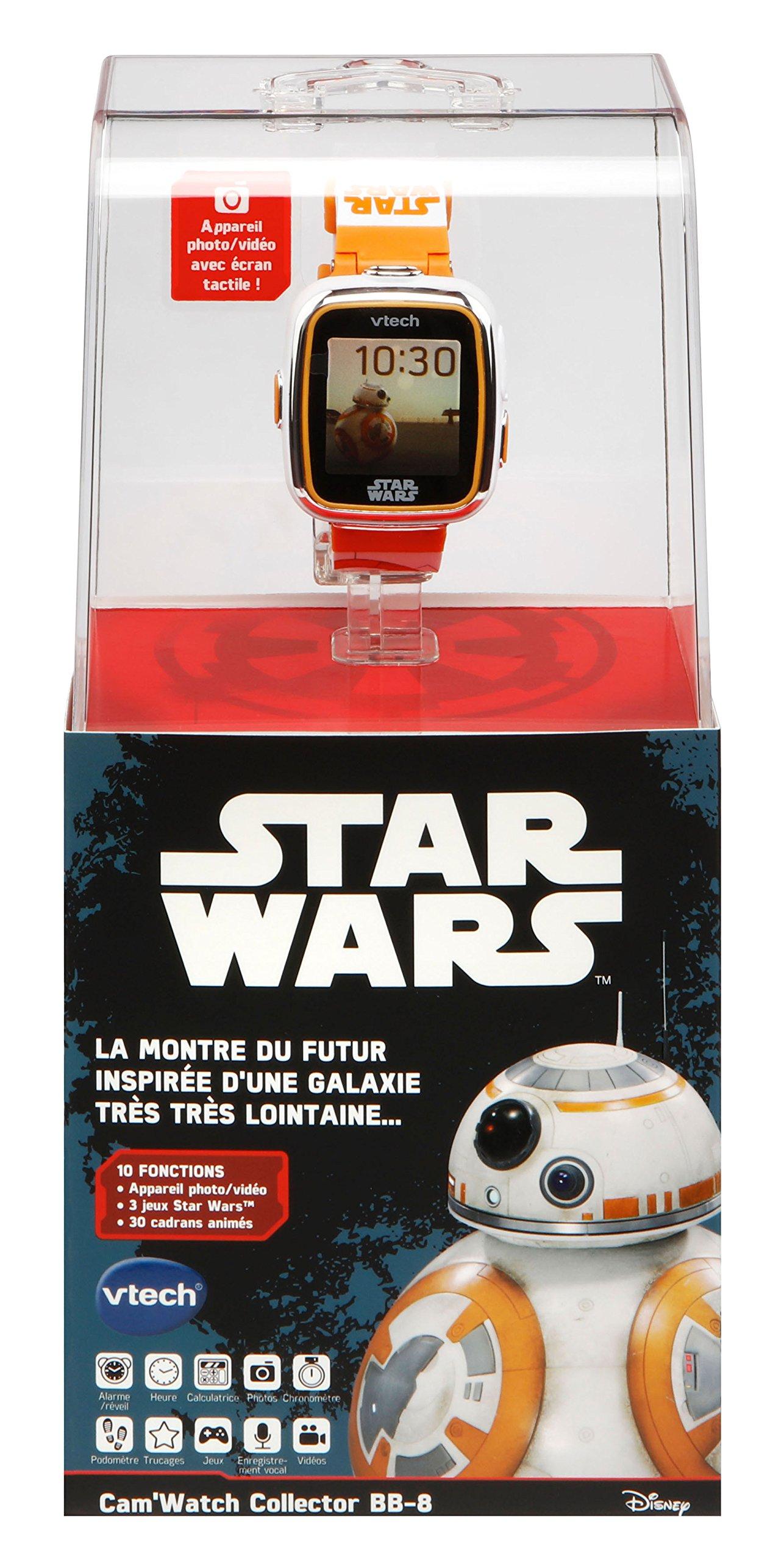 VTech Star Wars – Cam'watch Collector BB8 – Electrónica para niños (5 año(s), Litio, 127 mm, 87 mm, 279 mm, 440 g)