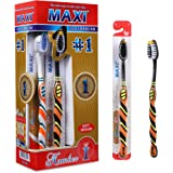 MAXI 1 Number Toothbrush (Pack of 12)