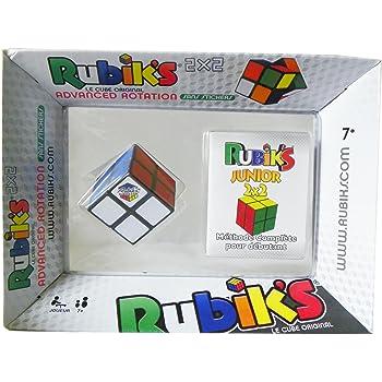 RUBIK'S - 0722 - Jeu D'action De Réflexe Cube 2x2 - Rotation Avancée Méthode
