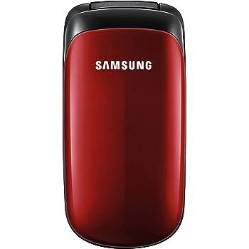 """Samsung E1150i Téléphone portable à clapet Écran 3,6 cm (1,43"""") Rouge (Import Allemagne): Amazon"""