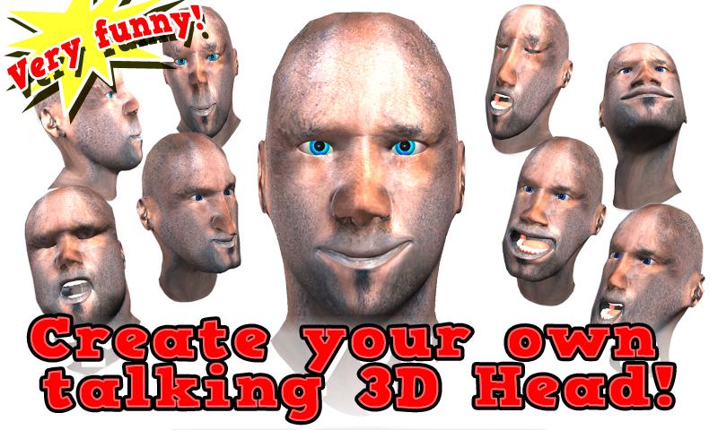 Zoom IMG-2 warp my talking face 3d