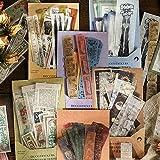 240 Pack d'Autocollants, 6 styles différents Stickers Étiquettes, poèmes, motifs, galaxies, plantes pour Etiquettes Adhésif D
