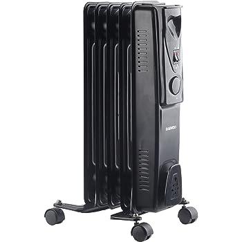 730b1758419 Daewoo Branded Floor Standing Oil Filled Radiator Heater