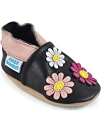 a8cfc7141 Beautiful Soft Leather Baby Shoes with Suede Soles – Toddler Shoes – Infant  Shoes – Pre