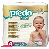 Predo Baby Maxi Eco Pack Diapers, 7-18 Kg, of 2, X-Large (White)