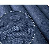 Polyester PU Waterafstotende waterdichte stof   Oxford 300D   linnenlook (blauw 1004)