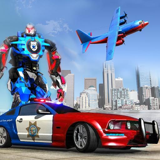 Police Robot Avion Transport Combat de guerre