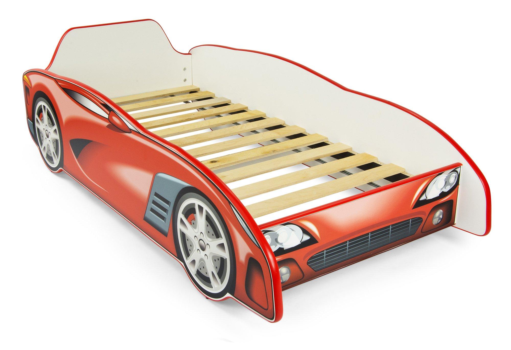 Letti Per Bambini A Forma Di Automobile.Letto Letti Per Bambini In Legno Materasso Dimensioni 140x70 Sport