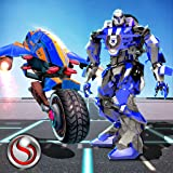 Polizei Bike Real Robot Transformation - Robot Wars