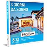 Smartbox - 3 Giorni Da Sogno - Cofanetto Regalo Coppia, 2 Notti con Colazione per 2 Persone, Idee Regalo Originale