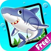 Ozean Puzzlespiele 123 gratis - Wörter-Lernspiel für Kinder