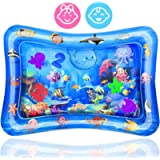 Wendergo Tummy Time Water Mat Inflatable Play Mat Perfect Sensory Toys for Baby Early Development Activity Centers…