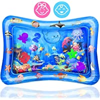 Tummy Time Water Mat Inflatable Play Mat Perfect Sensory Toys for Baby Early Development Activity Centers Infants…