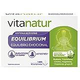 VITANATUR EQUILIBRIUM 60 Comprimidos - Complemento alimenticio equilibrio emocional, Vitaminas B12 y Magnesio, 100g