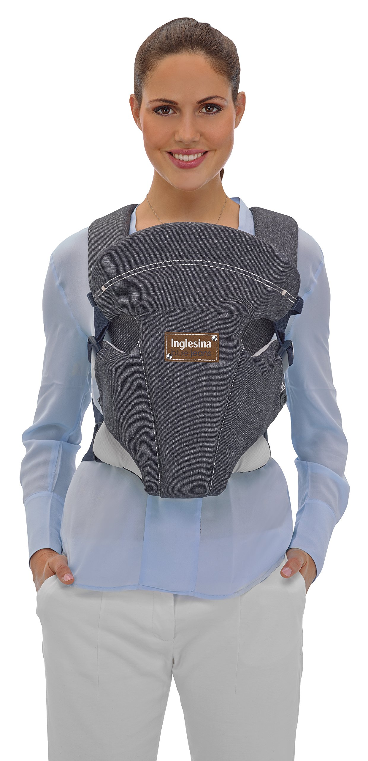 Inglesina Baby Carrier Front Inglesina Comfortable and easy-to-use adjusting belts Comfortable and wide shoulder braces for ultimate support Useful washable and removable bib 2