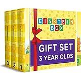 Einstein Box Birthday Gift Set for 3 Year Old Boys & Girls - Set of 3