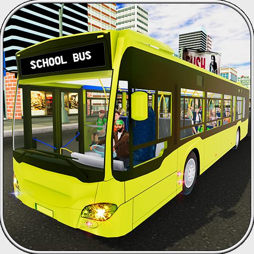Schulbus-Simulator 2018 3D (Kostenlose Monster Bus)