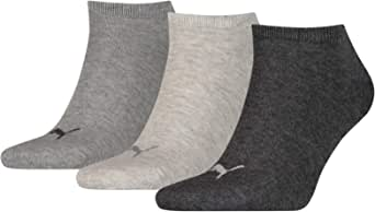 Puma - Puma Unisex Sneaker Plain 3P - Pack of 3 - Men's Sports Socks