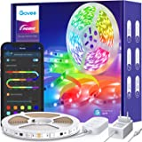 Govee RGBIC LED Strip 5m, LED Streifen Bluetooth, Musik Sync, Segmentcontrol, Farbwechsel, 64 Szenenmodus, Steuerbar via App,