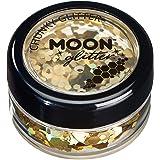 Holographischer grober Glitzer von Moon Glitter - 100% kosmetische Glitzer für Gesicht, Körper, Nägel, Haare und Lippen - 3g