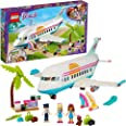 LEGO Friends Heartlake City Airplane 41429 building set with 4 mini-dolls and holiday accessories, Toy for Kids 7+ years (574