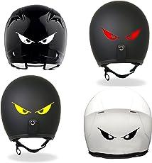 Isee360 Power Eyes ,Helmet Sticker(Pack of 4)