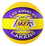 NBA Team Sz7 Rub Bsktball - LA LAKERS