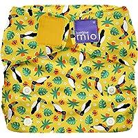 Bambino Mio SO TCN Miosolo Tucano Tropicale, Pannolino Lavabile Tutto-In-Uno, Multicolore