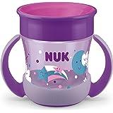 Nuk Mini Magic Cup Bicchiere salvagoccia   Bordo 360° anti-rovesciamento   6+ mesi   Illuminano al buio   Impugnatura facile