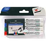 Faber-Castell Whiteboard Marker - Pack of 4 (Assorted)