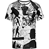 Blowhammer T-Shirt Uomo - Scribble Art