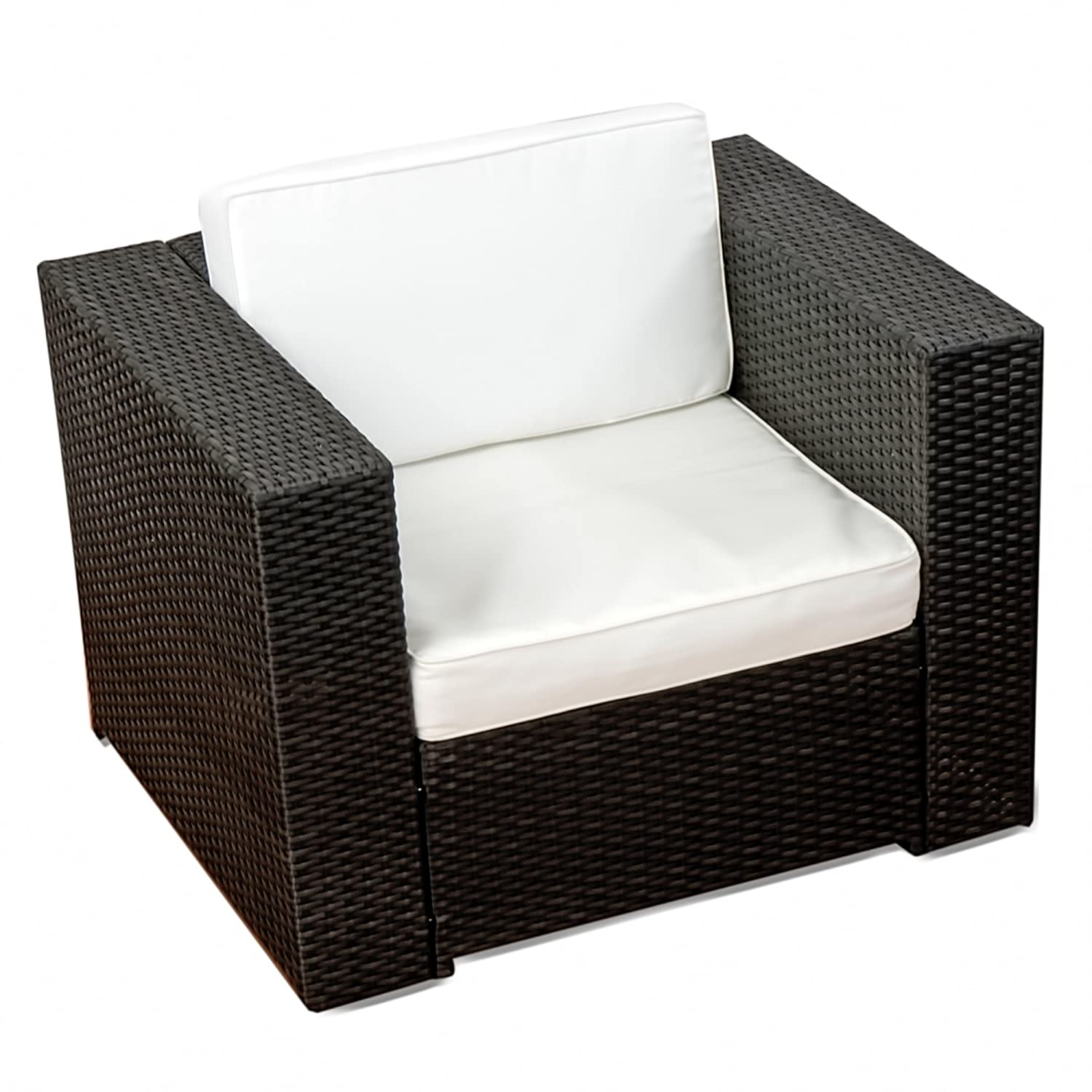 Garten lounge sessel  Amazon.de: XINRO (1er) Premium Lounge Sessel - Lounge Sofa ...