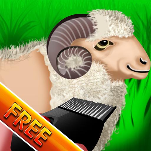 Wooly Sheep Shave : der Hirte Lamm Rasur Tag für Wolle Ernte - kostenlos (Lamm-mobile)