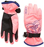 Roxy Damen Girl Poppy-Snowboard/ski Gloves 8-16, Emberglow, L
