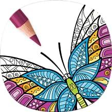 Mariposa para Colorear Adultos