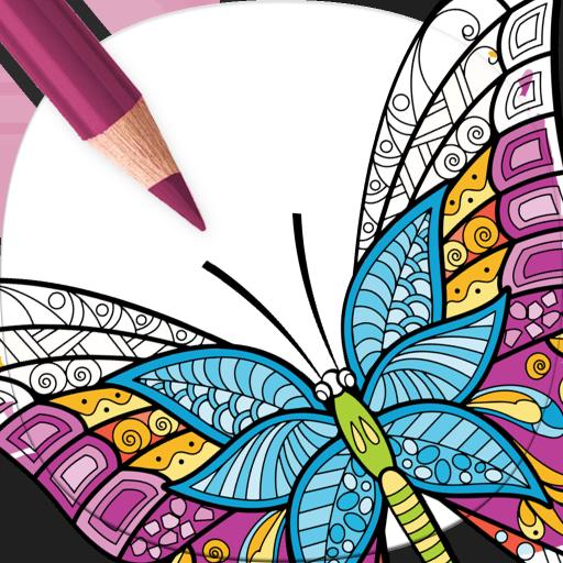 Disegni Di Farfalle Da Colorare Per Adulti Amazonit Appstore Per