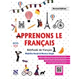 Apprenons Le Francais French Textbook 01: Educational Book
