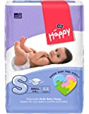 Bella Baby Happy Small Diapers Green (44 Piece)