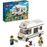 LEGO 60283 City Voertuigen Vakantiecamper, Motorhome Speelset, Zomervakantie Verjaardagscadeau voor Jongens en Meisjes met Mi