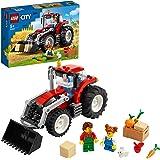 LEGO City Trattore Giocattolo, Playset Fattoria con Coniglio e Minifigure per Bambine e Bambini 5+ Anni, 60287