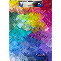 BALAJI MDF Printed School Pad/Exam Board/Clip Board - Size: 9.5 x 13.5 (Multi-Colour) B-113