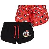 Disney Pantalon Corto Niña, Pack De 2 Pantalones Cortos de Mickey y Minnie Mouse, Ropa Niña de Algodón, Regalos para Niñas 18