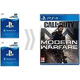 Carta PSN pour Call of Duty - Modern Warfare   Code Jeu PSN - Compte français   - Digital Standard Edition   Code Jeu PS4 - Compte français